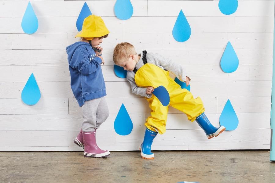 Kinderschuhe fuer wechselhaftes Wetter kinderstiefel
