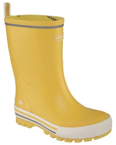 Viking-Footwear-Unisex-Kinder-Gummistiefel-Jolly-gelb