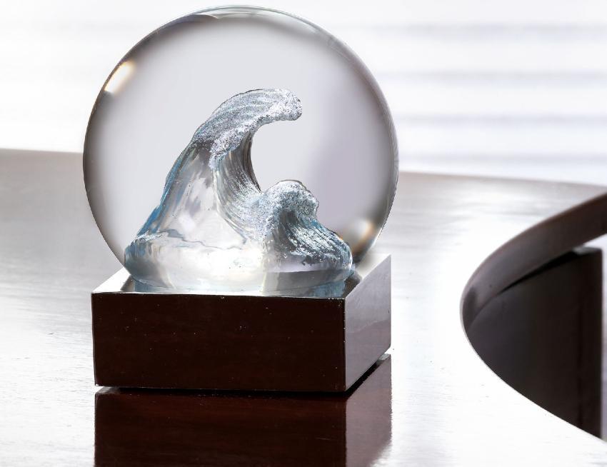 Cool Snow Globes Welle Höhe 12,6 cm