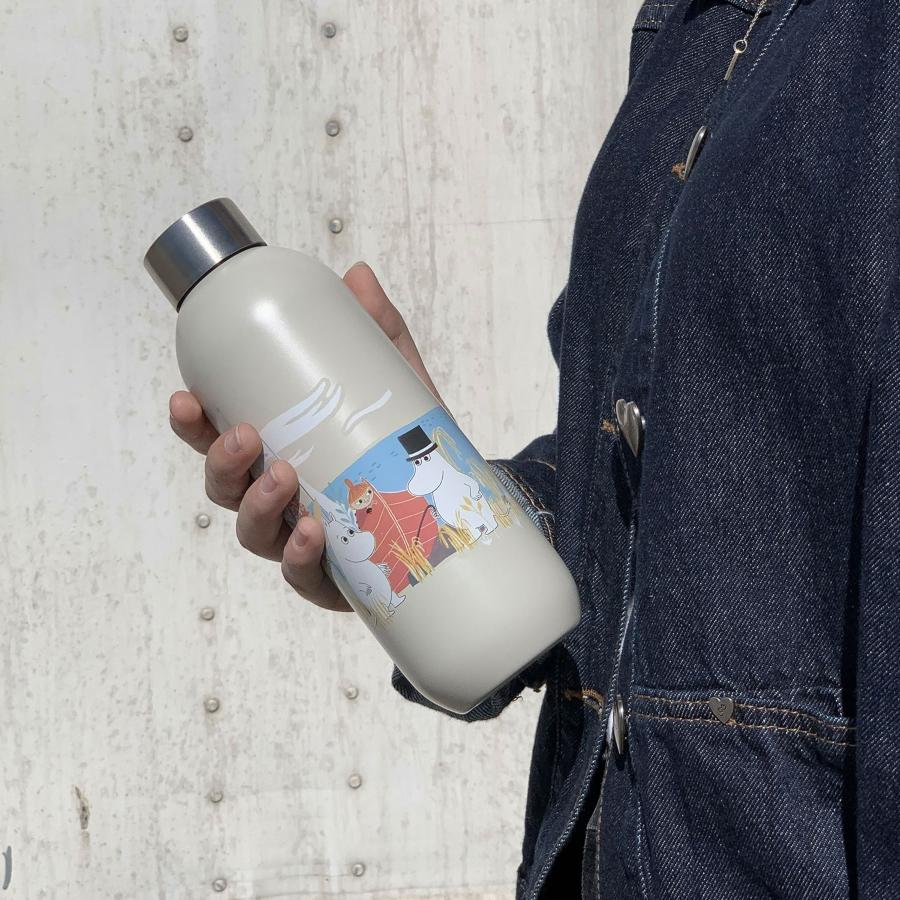 Stelton Mumin Keep Cool Trinkflasche 0,75 l sand