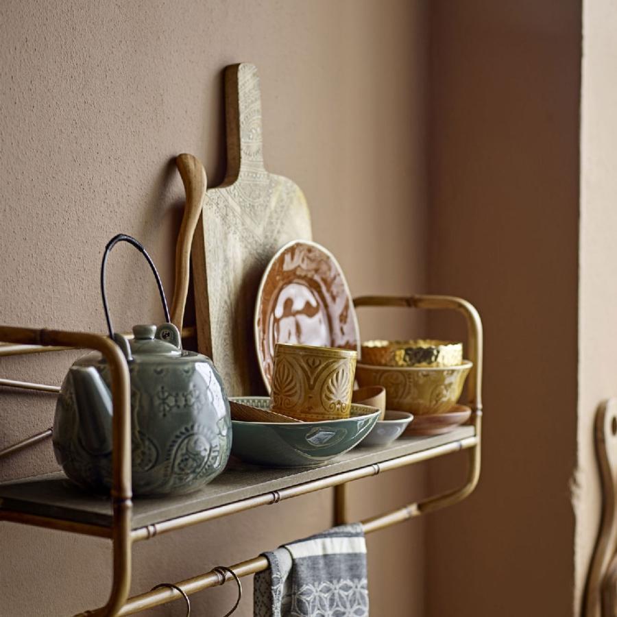 Bloomingville Rani Teekanne mit Sieb 1 l grau