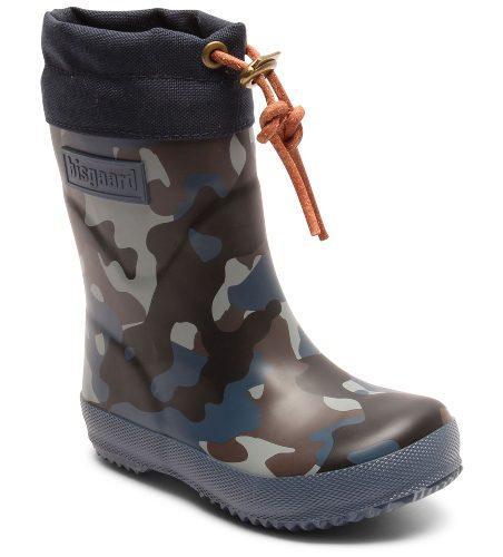 Bisgaard-Kinder-Thermogummistiefel-Camouflage-blau