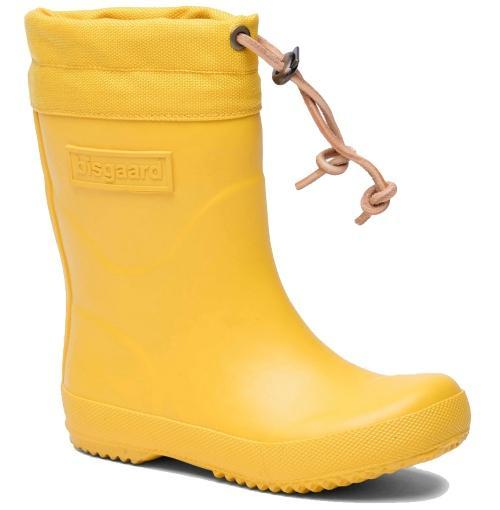 Bisgaard-Unisex-Kinder-Thermogummistiefel-gelb