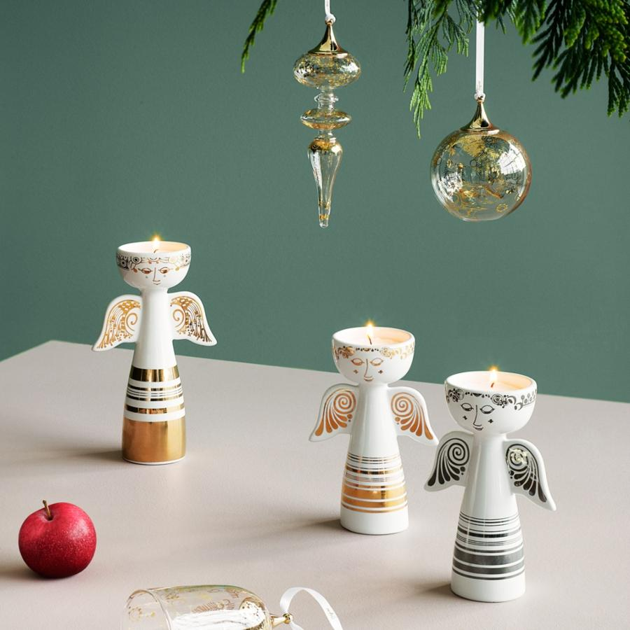 Bjoern-Wiinblad-Weihnachten-Teelichtleuchter-Engel-Hoehe-14-cm