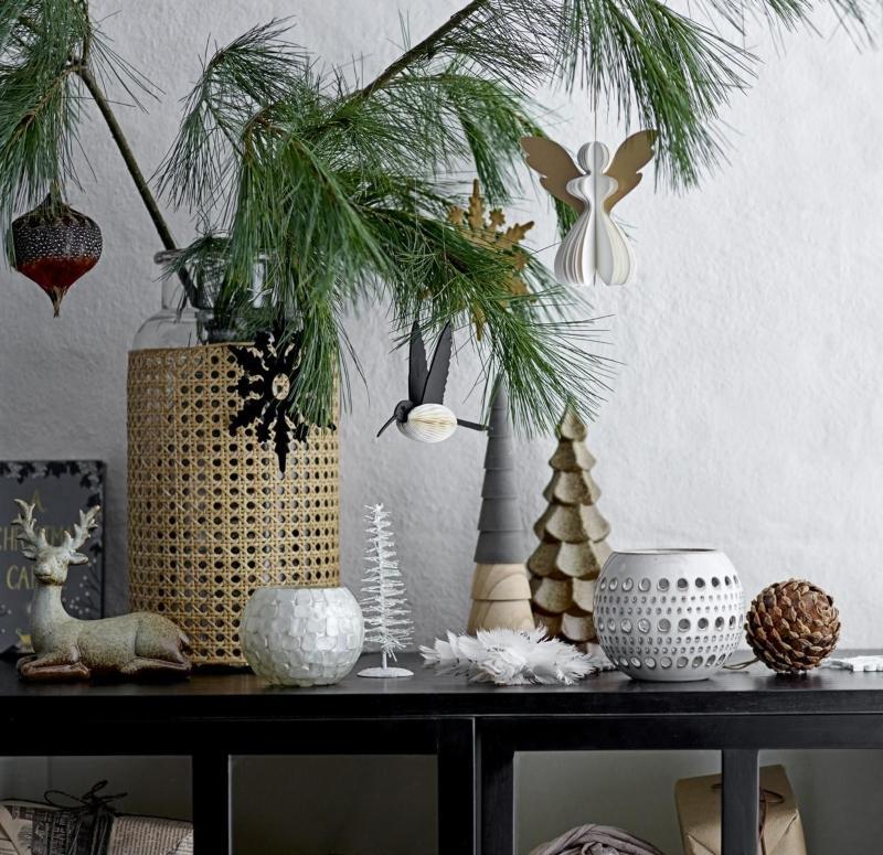 Bloomingville Baum zur Deko Keramik
