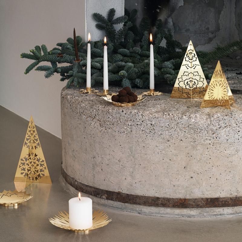 Georg-Jensen-Weihnachten-2020-Eisblume-Kerzenstaender-Set-3-tlg-gold