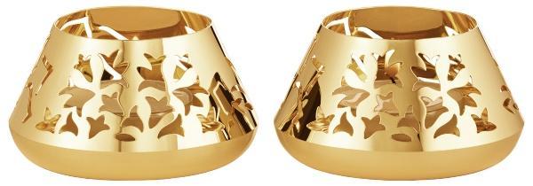 Georg-Jensen-Weihnachten-2020-Teelichtleuchter-2-Stk-Eisblume-gold