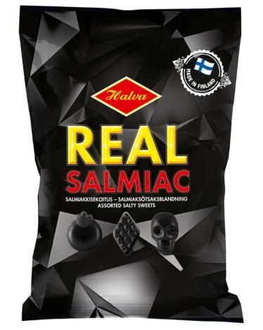 Halva Real Slamiak Lakritz 400 g