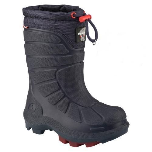 Viking-Footwear-Unisex-Kinder-Damen-Thermogummistiefel-Extreme-marineblau-rot
