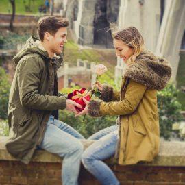 Pärchen - Skandinavische Valentinstaggeschenke