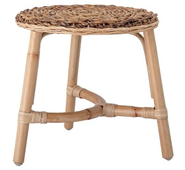 Bloomingville-Kinderhocker-Sitzflaeche-Rattan-Bananenpalmenholz