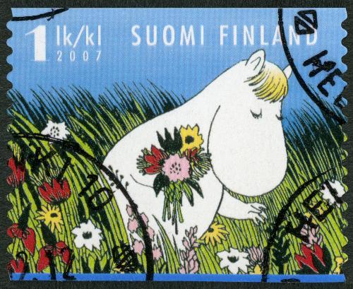 Mumin Briefmarke