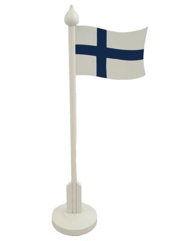 scandinavian-lifestyle Tischflagge Finnland Hoehe 32 cm