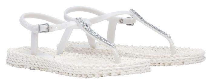 Ilse Jacobsen Damen Sandale mit Glitter CHEERFUL10G sandaletten-sommerliche-schuhe-aus-skandinavien