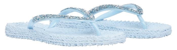 Ilse Jacobsen Damen Zehenlatschen mit Glitter CHEERFUL03G