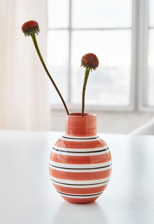 Kaehler Design Omaggio Nuovo Vase Hoehe 14,5 cm terrakotta Terracotta