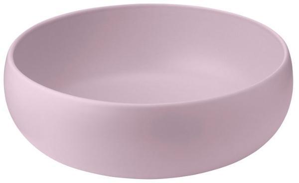 Knabstrup Keramik Earth Schale 30 cm matt graurosa sommerliche-scandi-style-farben