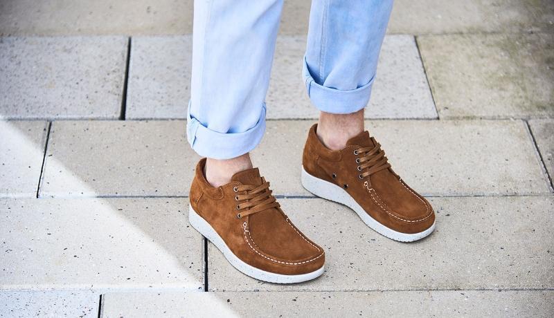 Nature Footwear Herren Sneaker Wildleder Arne Scandi Schuhe