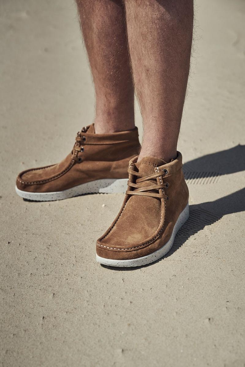 Nature Footwear Herren Stiefel niedrig Wildleder Anton