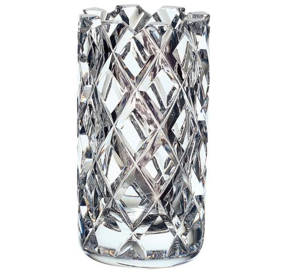 Orrefors Sofiero Vase Hoehe 20 cm Vasen mit Rillen