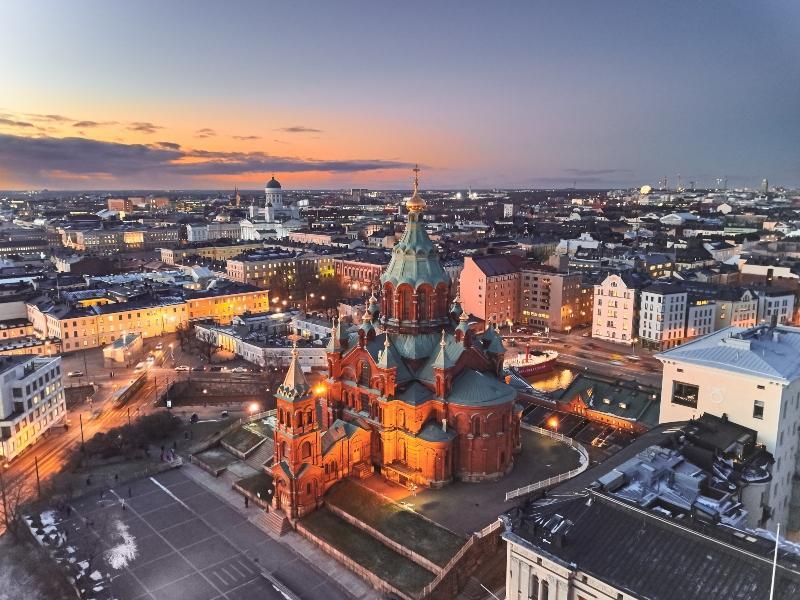 Uspenski-Kathedrale Finnland helsinki-urlaub