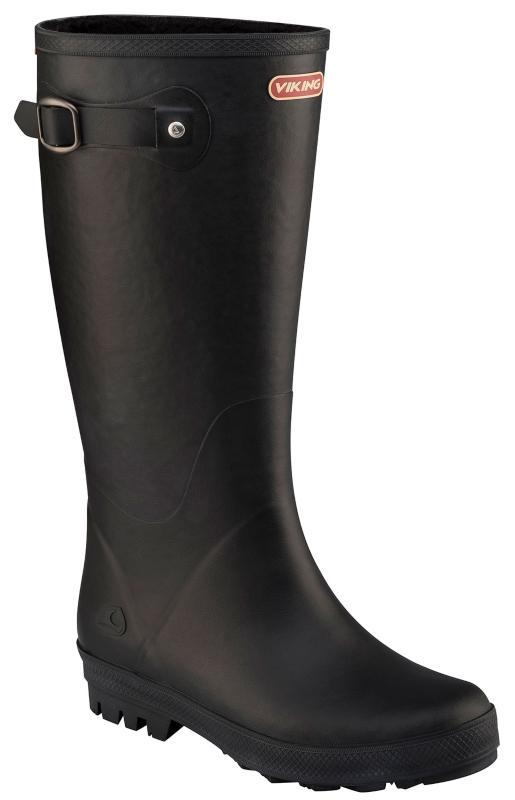 Viking Footwear Damen Winter Gummistiefel schwarz Foxy