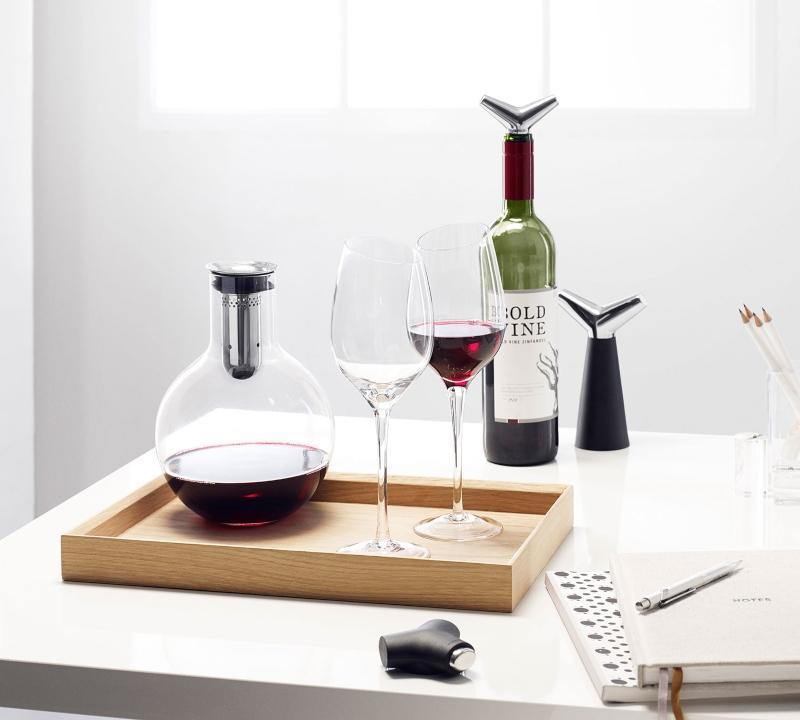 Eva Solo Kelchserie Bordeaux Rotwein 39 cl 2 Stk klar
