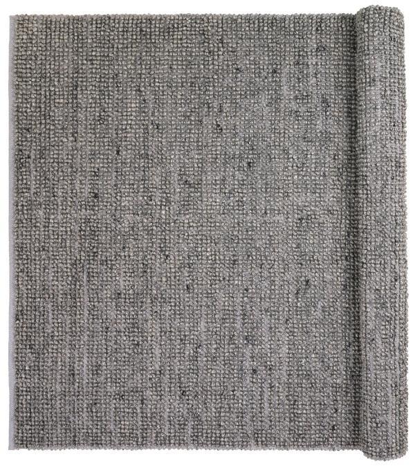 Broste-Copenhagen-Teppichlaeufer-Wolle-Viskose-70x140-cm-grau-Thomas