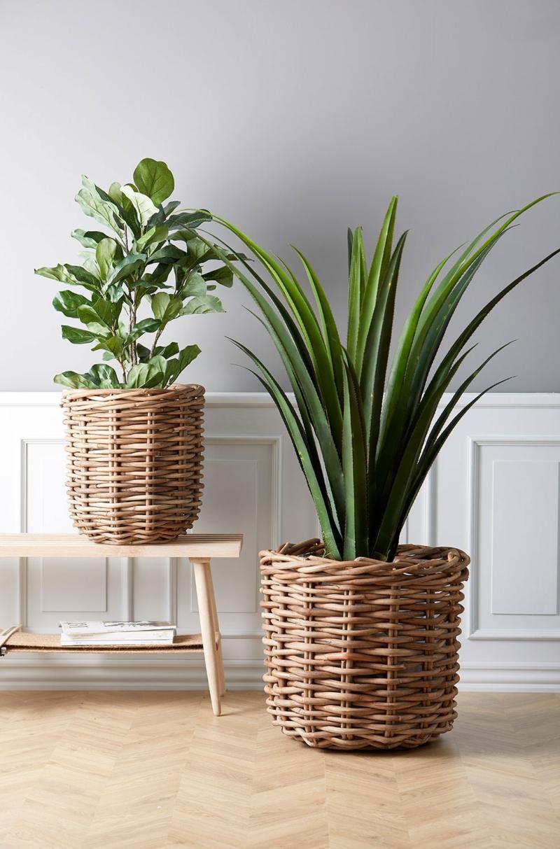Villa-Collection-Pflanzenkorb-Set-2-Stk-Rattan