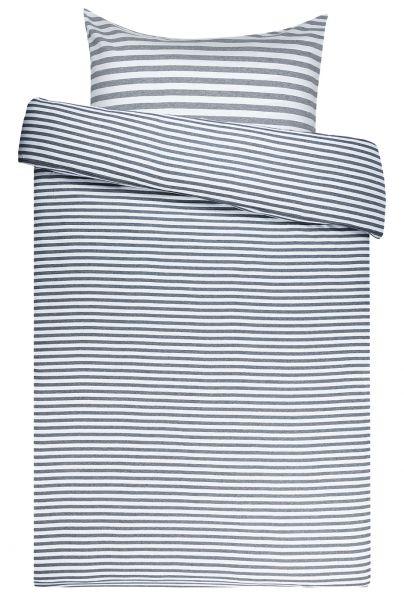 Marimekko Tasaraita Bettwäsche Grau Weiß 80x80cm135x200