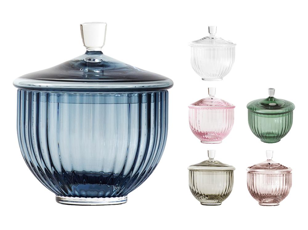 lyngby porcel n vase acc dose glas 10 cm scandinavian lifestyle. Black Bedroom Furniture Sets. Home Design Ideas