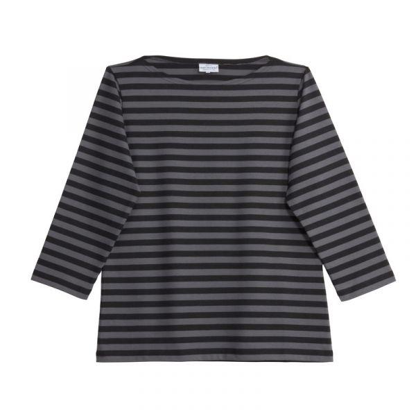 f38633f0e Marimekko Tasaraita Ilma T-Shirt schwarz grau - scandinavian-lifestyle