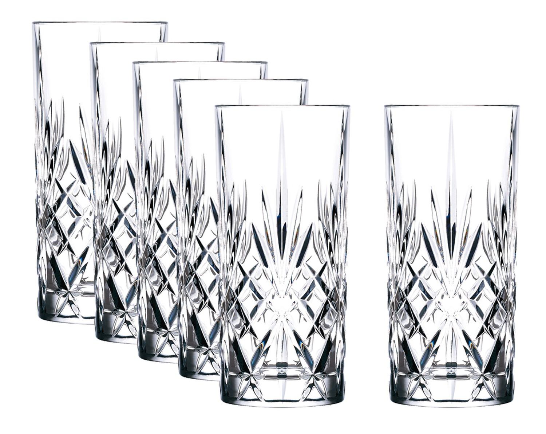lyngby glas kristall melodia longdrink 36 cl 6 stk scandinavian lifestyle. Black Bedroom Furniture Sets. Home Design Ideas