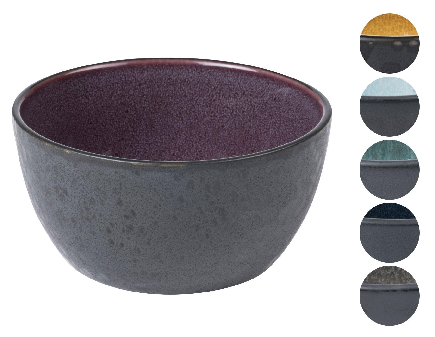 bitz steingut zweifarbig schwarz sch ssel 14 cm scandinavian lifestyle. Black Bedroom Furniture Sets. Home Design Ideas