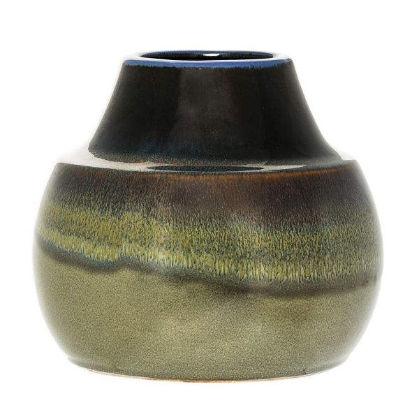 Bloomingville Vase Grün Höhe 18 Cm Scandinavian Lifestyle