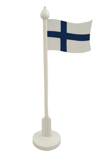 scandinavian lifestyle tischflagge finnland scandinavian lifestyle. Black Bedroom Furniture Sets. Home Design Ideas