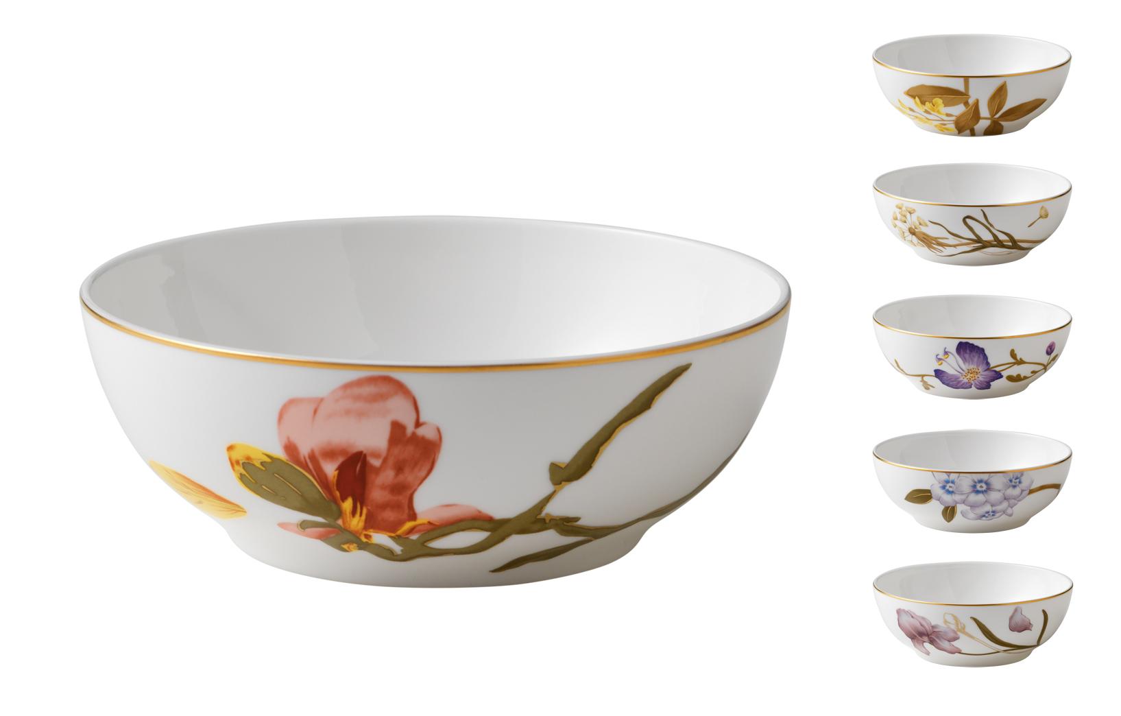 royal copenhagen flora sch ssel 14 cm scandinavian lifestyle. Black Bedroom Furniture Sets. Home Design Ideas