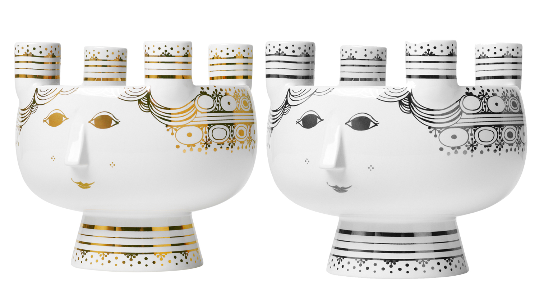 bj rn wiinblad weihnachten lucia kerzenst nder 4 flg scandinavian lifestyle. Black Bedroom Furniture Sets. Home Design Ideas