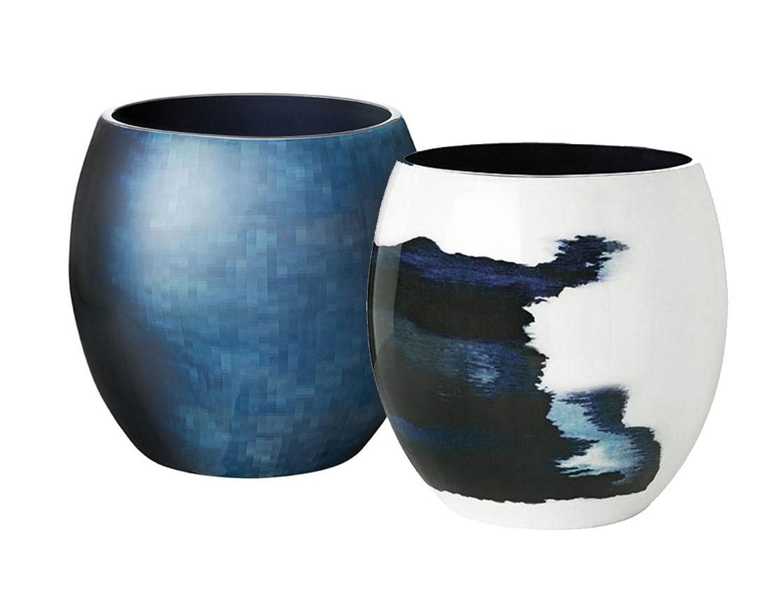 stelton stockholm vase h he 24 cm scandinavian lifestyle. Black Bedroom Furniture Sets. Home Design Ideas