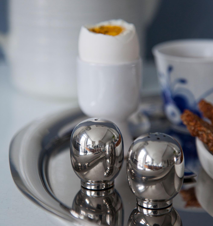 Piet Hein Super egg Salz Pfefferstreuer