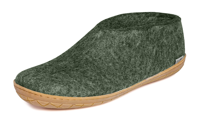 glerups modell a flizschuh m kautschuksohle waldgr n scandinavian lifestyle. Black Bedroom Furniture Sets. Home Design Ideas